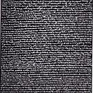 """""""Dictionary 40"""" (modern languages-muscular) by Michelle Lee Willsmore"""