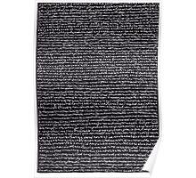 """Dictionary 42"" (nightcap-nonaggression) Poster"