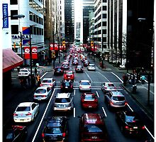 Red Traffic by Vanessa Serroul