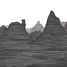 Mountainscape 3 by Jaelah