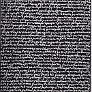"""""""Dictionary 45"""" (pancake-patricide) by Michelle Lee Willsmore"""