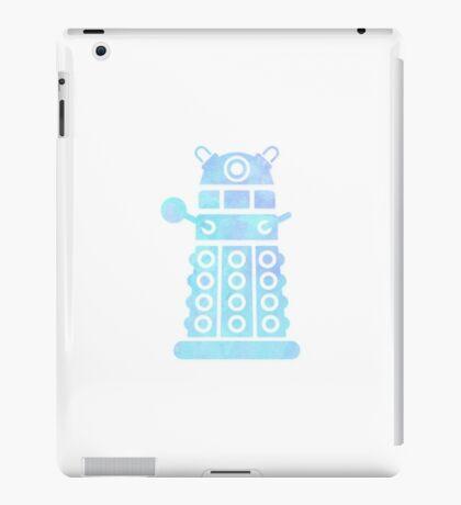 dalek blue pastel version iPad Case/Skin