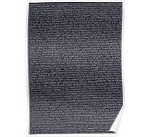 """""""Dictionary 48"""" (piker-Pom) Poster"""