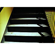 Scary Stairs Photographic Print