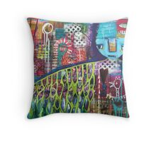 Protection & Strength Throw Pillow