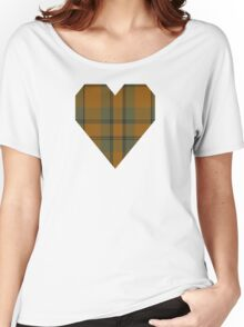 00586 Donachie of Brockloch Ancient Hunting Clan/Family Tartan  Women's Relaxed Fit T-Shirt