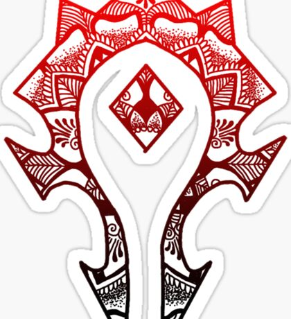Mehndi Horde  Sticker