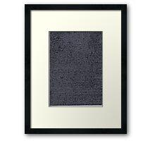 """""""Dictionary 62"""" (strength-suspense) Framed Print"""