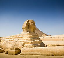 { the great sphinx of giza } by Brooke Reynolds
