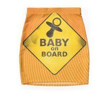 Baby on Board Mini Skirt