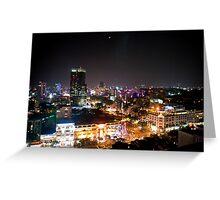 Saigon By Night Greeting Card