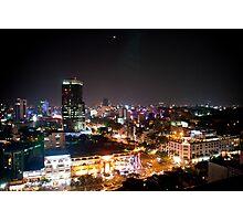 Saigon By Night Photographic Print