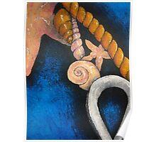 Sea themed still life Poster
