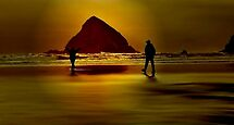 GOLD BEACH.....Having Fun~ by RoseMarie747