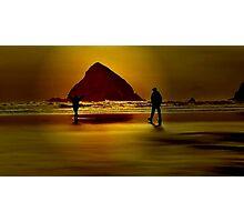 GOLD BEACH.....Having Fun~ Photographic Print