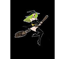 Green Witch Photographic Print