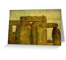 Stonehenge, Amesbury UK  ©  Greeting Card
