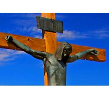 Jesus of Nazareth The King of The Jews Photographic Print