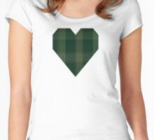 00587 Donachie of Brockloch Hunting Clan/FamilyTartan  Women's Fitted Scoop T-Shirt