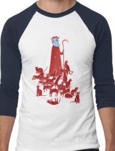 Herding Cats Men's Baseball ¾ T-Shirt