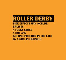 Roller Derby Side Effects Womens Fitted T-Shirt