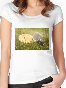 Discarded Women's Fitted Scoop T-Shirt