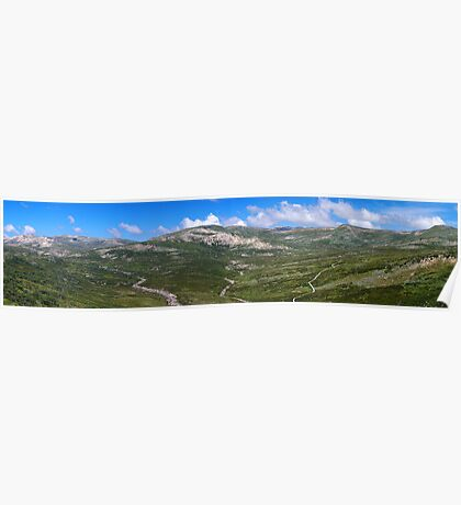 The top of Australia panorama Poster