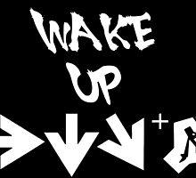 STREET FIGHTER - WAKE UP SHORYUKEN - WHITE by frc qt