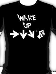 STREET FIGHTER - WAKE UP SHORYUKEN - WHITE T-Shirt