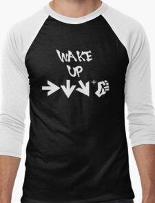 STREET FIGHTER - WAKE UP SHORYUKEN - WHITE Men's Baseball ¾ T-Shirt