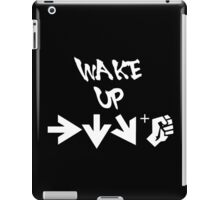 STREET FIGHTER - WAKE UP SHORYUKEN - WHITE iPad Case/Skin