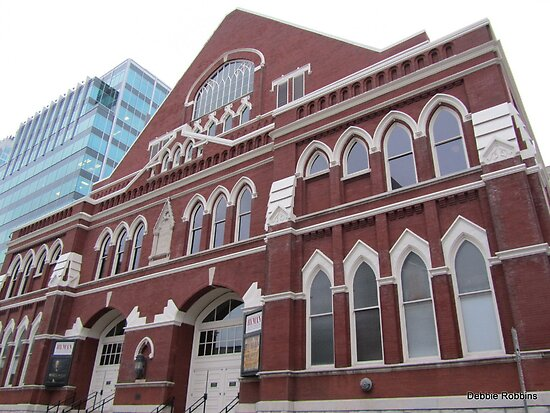 Ryman Auditorium, Nashville, TN  USA by Debbie Robbins