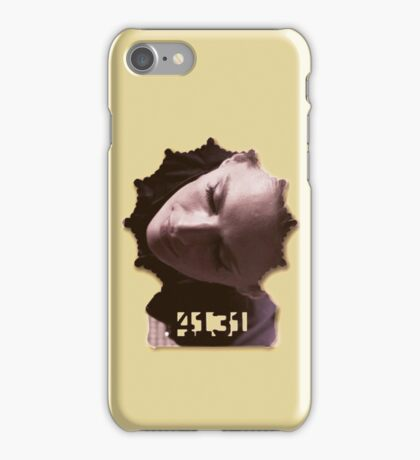 Kate Beckett's badge iPhone Case/Skin