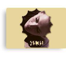 Kate Beckett's badge Canvas Print