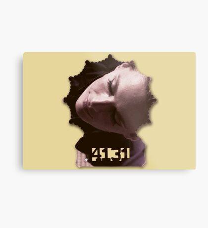 Kate Beckett's badge Metal Print