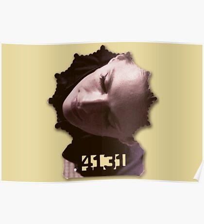 Kate Beckett's badge Poster