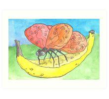 Bananafly Art Print