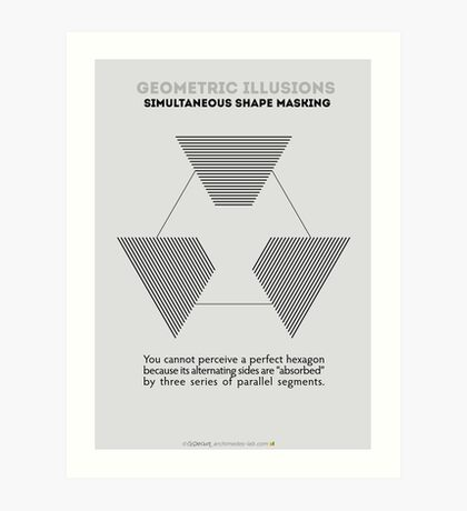 Psychology of Shapes Art Print