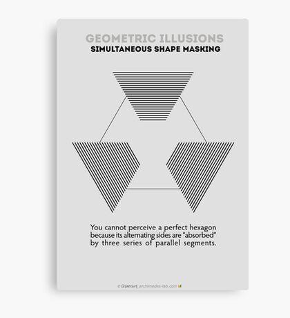 Psychology of Shapes Canvas Print