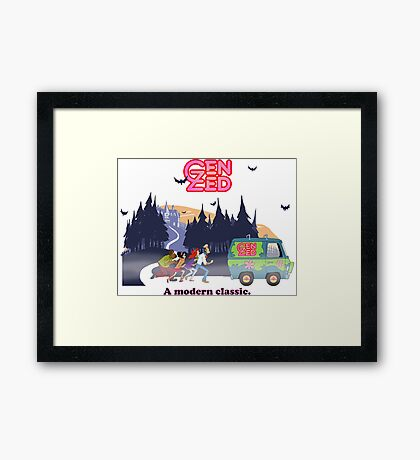 Zeddy Doo! Framed Print