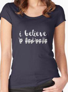 I Believe - Spring Awakening Women's Fitted Scoop T-Shirt