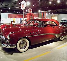 Shiney Red Buick by Nora Caswell