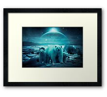 The Queen of the North Pole Framed Print