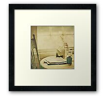 Morning Read Framed Print