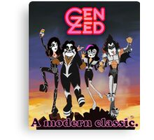 Gen Kiss Canvas Print