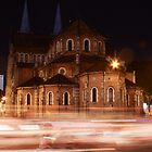 Saigon Notre-Dame Basilica Church, Vietnam by Chris Cherry