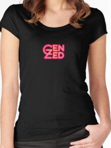 Gen Zed Logo Women's Fitted Scoop T-Shirt