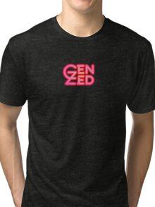 Gen Zed Logo Tri-blend T-Shirt