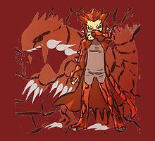 Groudon | Kawaii Fan-Art by SALSAMAN