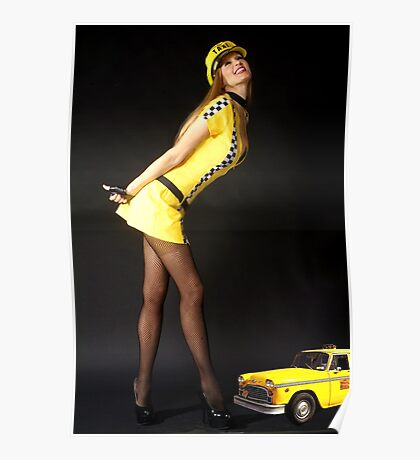 Cab Driver Poster